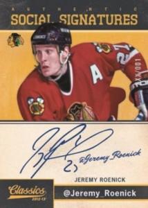 2012-13 Panini Classics Signatures Hockey Cards 7