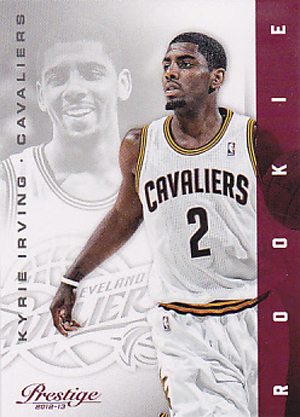 Kyrie Irving Rookie Cards and Autograph Memorabilia Guide 1