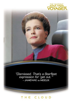 2012 Rittenhouse The Quotable Star Trek Voyager Trading Cards 24
