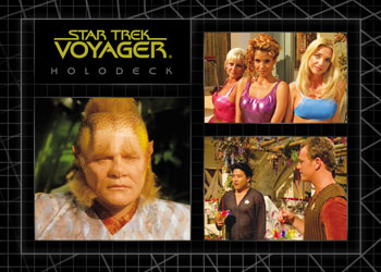 2012 Rittenhouse The Quotable Star Trek Voyager Trading Cards 26