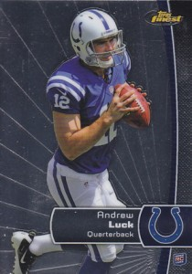 2012 Topps Finest Andrew Luck RC 210x300 Image
