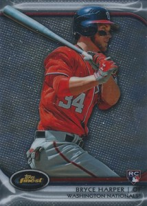 2012 Topps Finest Bryce Harper RC