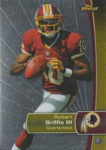 2012 Topps Finest Robert Griffin III RC