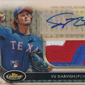 Spectacular 2012 Topps Finest Autographed Yu Darvish Superfractor Pulled