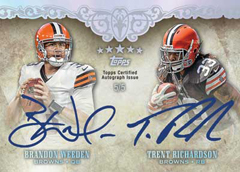 2012 Topps Five Star Football Cards 28