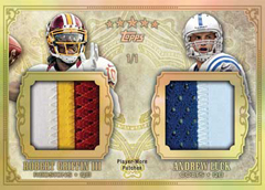 2012 Topps Five Star Football Cards 34