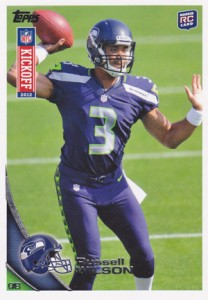 2012 Topps NFL Kickoff Checklist and Guide 2