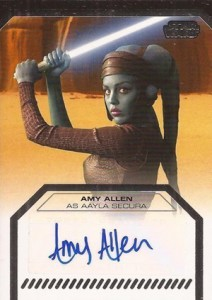 2012 Topps Star Wars Galactic Files Autographs Guide 1