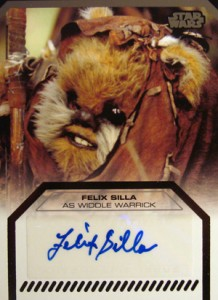 2012 Topps Star Wars Galactic Files Autographs Guide 16