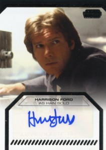 Harrison Ford Autograph Card Collecting Guide and Checklist 25