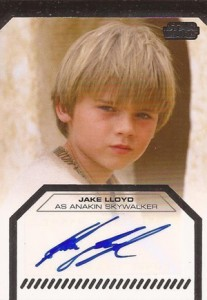 2012 Topps Star Wars Galactic Files Autographs Guide 11