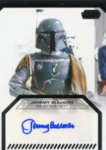 2012 Topps Star Wars Galactic Files Autographs Guide 3