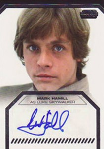 2012 Topps Star Wars Galactic Files Autographs Guide 7