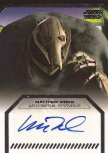 2012 Topps Star Wars Galactic Files Autographs Guide 17