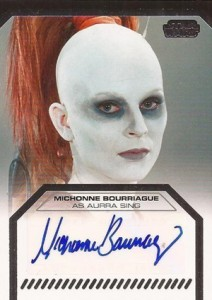 2012 Topps Star Wars Galactic Files Autographs Guide 2