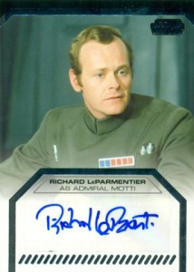 2012 Topps Star Wars Galactic Files Autographs Guide 10