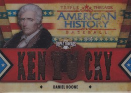 Davy Crockett Among Surprise Relics in 2012 Topps Triple Threads Baseball 3