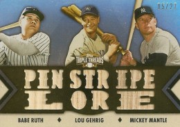 20 Jaw-Dropping 2012 Topps Triple Threads Baseball Hits 20