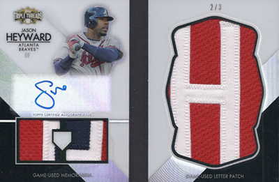 20 Jaw-Dropping 2012 Topps Triple Threads Baseball Hits 9