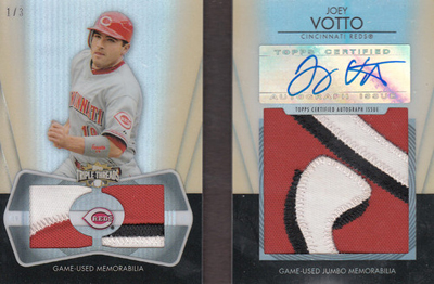 20 Jaw-Dropping 2012 Topps Triple Threads Baseball Hits 10