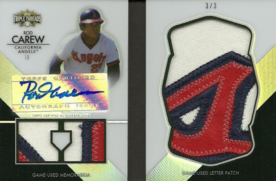 20 Jaw-Dropping 2012 Topps Triple Threads Baseball Hits 11