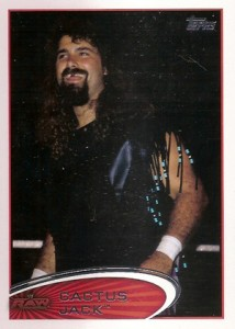 2012 Topps WWE Mick Foley Variations - Cactus Jack