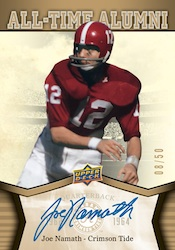 2012 Upper Deck University of Alabama Football Cards 4