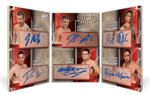 2013 Topps UFC Knockout Trading Cards 17
