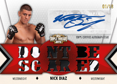 2013 Topps UFC Knockout Trading Cards 20