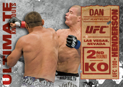 2013 Topps UFC Knockout Trading Cards 25