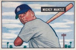 1951 Bowman Mickey Mantle RC