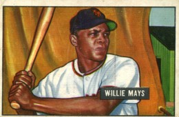 1951 Bowman Willie Mays RC