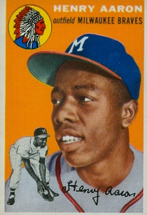 Hammertime! Top 10 Hank Aaron Cards 10