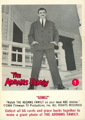 1964 Donruss Addams Family Trading Cards 22