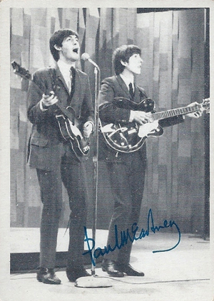 1964 Topps Beatles Black and White 3rd Series Card