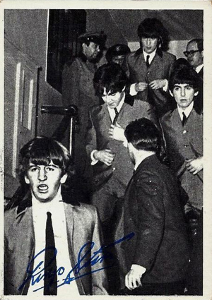 1964 Topps Beatles Black and White 2nd Series Trading Cards 22