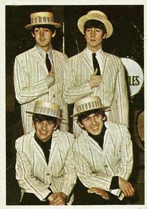 1964 Topps Beatles Color Card