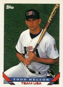 1993 Topps Traded Baseball 19T Todd Helton RC