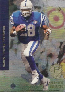 1994 SP Football Marshall Faulk RC
