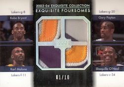 2003-04 Upper Deck Exquisite Collection Basketball Cards 26