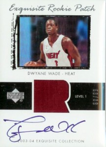 2003-04 Upper Deck Exquisite Dwyane Wade