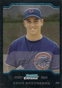 Top 5 Adam Greenberg Baseball Cards 3
