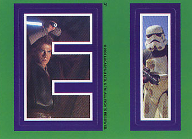 2004 Topps Star Wars Heritage Trading Cards 25