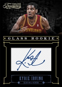 2012-13 Panini Timeless Treasures Basketball Glass Rookie Kyrie Irving