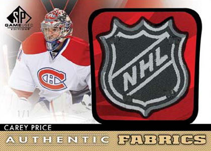 2012-13 SP Game Used Hockey Cards 7