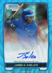 2012 Bowman Chrome Baseball Wrapper Redemption Details - UPDATE 1