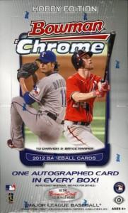 Win a FREE 2012 Bowman Chrome Hobby Box 1