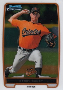 2012 Bowman Chrome Baseball Prospect Variation Short Prints Guide 15