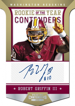 2012 Panini Contenders Football Cards 7
