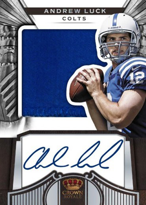 2012 Panini Crown Royale Football Cards 4